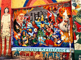 Clarion Alley Mural Project Address by Mission Murals To Remember Writing Is Thinking