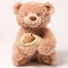 Gund Singing Animated Rock A Bye Baby Bear Childrens Teddy 4036002