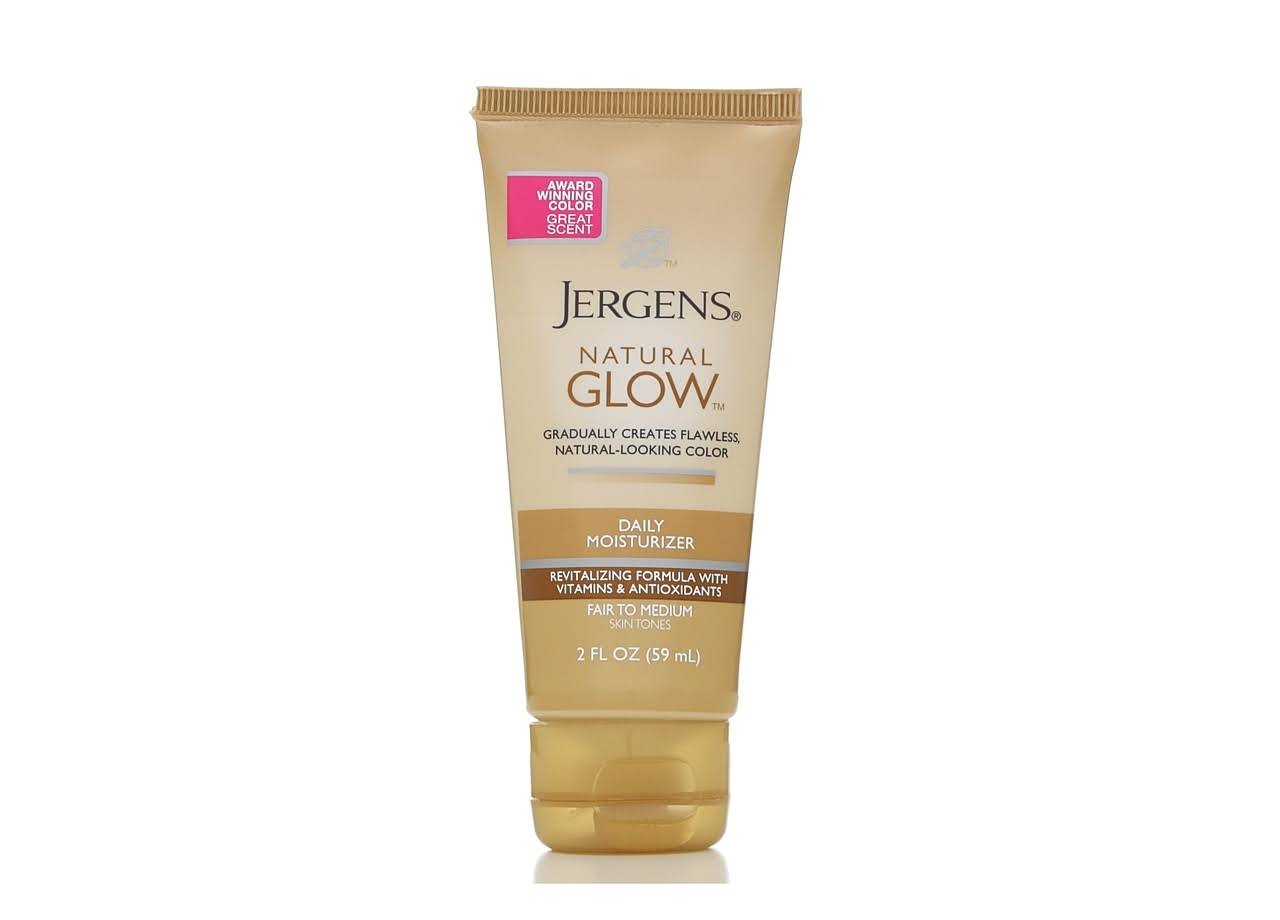 Jergens Natural Glow Revitalizing Body Lotion - Medium Shade, 2oz