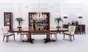 design esszimmer esstisch tisch 6 sessel stuhl lehn stühle echt holz tische 7tlg