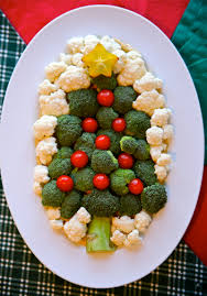 Rice Krispie Christmas Trees Recipe by Healthy And Adorable This Vegan U201cchristmas Tree U201d Veggie Plate