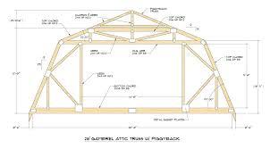 Shed Roof Garage Plans Roof Garage Plans Brandy Barn Style Garage