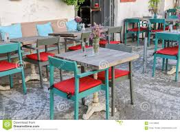 Tables And Chairs In Cafe Or Restaurants, Outside Stock ... Colorful Tables Chairs Cheap Effective Color Wheel Outdoor Fniturattanwicker Cafe Table And Chair D510 Cheap Restaurant Dessert Home Styles Terra Cotta 3piece Tile Top Patio Bistro Set With Taupe Cushions Form Caf Table Marble 70xh65 Cm Coffee Landing Page Integrity Fniture Cafe Bent Plywood Ding Chair Buy Fniturecheap Chairbent Product On Alibacom Ray Square Caf Charcoal Black Woud As White Rentals For Special Events Restaurant Seating Buyers Guide Isometric Design Fniture