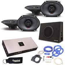 100 Truck Speakers Alpine TypeR RS68 6x8 2pair SBTS10V 10