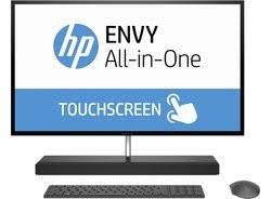 ordinateur de bureau hp tout en un ordinateur de bureau hp envy 27 b101nf pas cher prix clubic