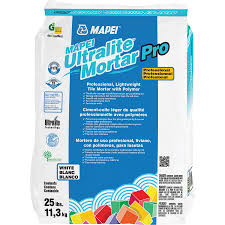 shop mapei ultralite pro 25 lb white powder medium bed at lowes