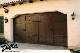 Glorious Garage Doors Designs Spanish Style Custom And