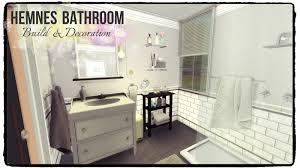 Ikea Hemnes Bathroom Storage by Sims 4 Hemnes Bathroom Dinha