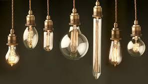 edison steunk luminaires works on energy efficient led technology