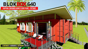 100 Modern Containers Shipping Container PREFAB Design And Modular HOMES FLOOR PLANS With Pictures BLOKBOX 640