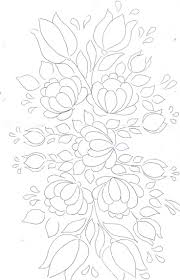 Floral Bunch Pattern For Painting Embroidery Applique Love The Flourishing Happy Effect Of This Design
