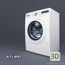 100 Atlant 3d Model Washing Machine ATLANT 10 Series SMART ACTION