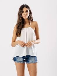 white satin cami top influence fashion
