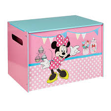 coffre a jouet fille minnie mouse coffre à jouets coffre de rangement pour chambre