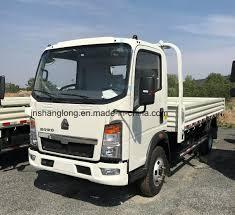 100 4x2 Truck China HOWO Light 4X2 102PS 14FT 4t Cargo Mini