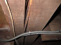 Sistering Floor Joists With Plywood by Old House Has Cracks In Floor Joists And Splits In Main Carrying
