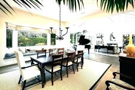 Contemporary Dining Room Rugs Ideas With Rug For Area