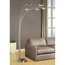 Target Floor Lamp Threshold by Threshold Floor Lamp With White Shade And Glass Shelves Silver