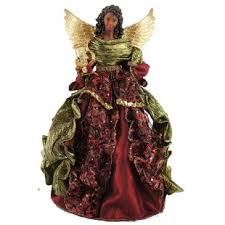 16 African American Christmas Angel Tree Topper