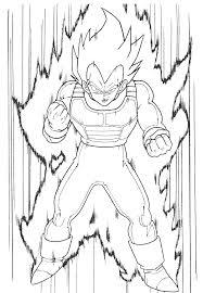 Dragon Ball Z Kai Coloring Pages Inspiring