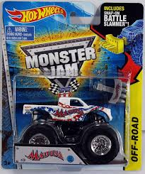 100 Madusa Monster Truck Toy Amazoncom HOT WHEELS 164 SCALE 2015 RELEASE BATTLE SLAMMER MADUSA