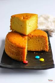 Eggless Cake in Pressure Cooker Vanilla Cake Recipe