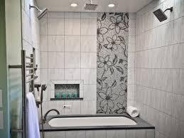 modern mosaic art floor tile bathroom floral ideas love this