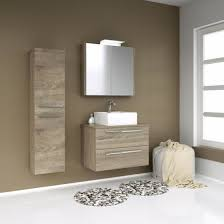 vidamar serena badezimmer hochschrank 2 türen wäschekorb eiche grau 35 x 140 cm