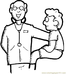 Doctor Hospital Coloring Page 14