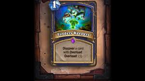 Overload Shaman Deck Frozen Throne by حياكم Finders Keepers Aggro Shaman Youtube