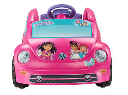 Dora The Explorer Kitchen Set by Power Wheels Dora And Friends Volkswagen New Beetle 6v Battery