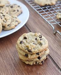 """day a few weeks ago he asked that question and it was a day that I didn t have any idea what we could make I asked """"how about chocolate chip cookies"""
