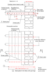 Distance Between Floor Joists Canada by Anchoring Timber Floor Joists To Stone Masonry Walls Http Www