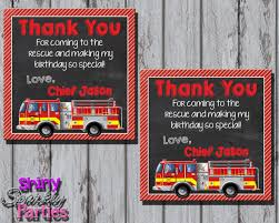 FIRETRUCK THANK YOU Tags Firefighter Favor Tags Fireman | Etsy Make It Cozee Firetruck Party Fire Truck Themed Birthday Lovely Fine Fireman Ideas Toddler At In A Box Bear River Photo Greetings Invitations And Decorations Liviroom Decors Special Free Printable Kids Awesome Emma Rameys 3rd Lamberts Lately Firefighter Wedding Unique With Free Printables How To Nest For Less More Than 9 5my Life As Mom Noahs Parties