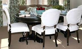 Cover Chair Seat Endearing Dining Room Slipcovers And Perfect Covers For