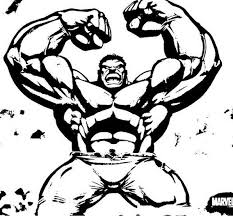 Hulk Coloring Pages For Kids 9 Free Printable
