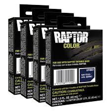UPOL 4861 Raptor Navy Blue Color Tint Pouch For 4L Truck Bed Liner