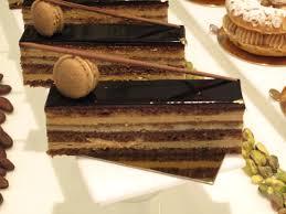 Opera Cake Plating images