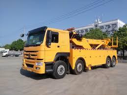 100 Two Ton Truck China 30 Towing Wrecker 8X4 One Lift Rotator