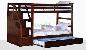 Twin Over Twin Bunk Beds With Trundle by 15 Best Ideas Of Twin Bunk Beds With Stairs