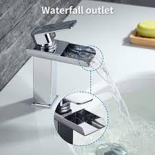 2er wasserhahnn bad design verlängerte einhebel waschtischarmatur armatur wasserfall einhandmischer für badzimmer
