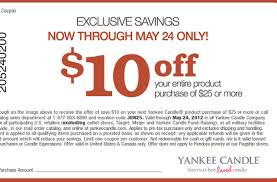 Yankee Candle: $10 Off $25 Printable Coupon - Al.com Free Walgreens Photo Book Coupon Code Yankee Candle Company Will Not Honor Their Feb 04 2018 Woodwick Candle Pet Hotel Coupons Petsmart Buy 3 Large Jar Candles Get Free Life Inside The Page Coupon Save 2000 Joesnewbalanceoutlet 30 Discount Theatre Red Wing Shoes Promo Big 10 Online Store 2 Get Free Valid On Everything Money Saver Sale Fox2nowcom Kurios Cabinet Of Curiosities Edmton Choice Jan 29 Retail Roundup Ulta Joann Fabrics