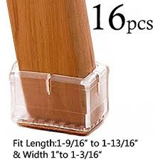 Chair Leg Protectors For Wooden Floors by Amazon Com Limbridge Chair Leg Wood Floor Protectors Chair Feet
