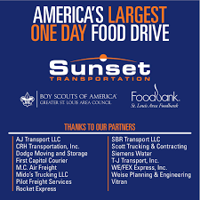 Sunset Thanks Carriers That Volunteered For St. Louis Scouting For ...