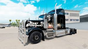 100 Fast And Furious Trucks Skin And On The Truck Kenworth W900 For American Truck