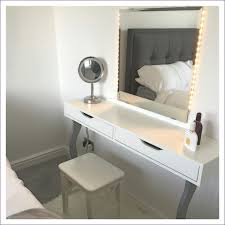 Diy Vanity Desk With Lights by Bedroom Wonderful How To Build A Makeup Vanity Malm Dressing