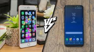 Apple iPhone 8 Plus vs Samsung Galaxy S8 Plus Battle of the big