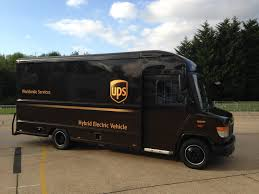 100 Ups Truck Routes UPS Trialling Rangeextended Electric Delivery Vehicle In UK Post
