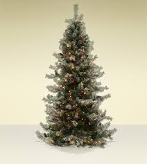 Sears Flocked Pencil Christmas Tree by Artificial Scotch Pine Christmas Trees Home Decorating Interior