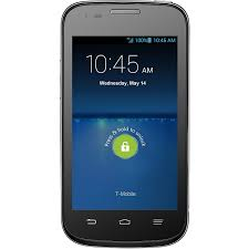 Amazon ZTE Concord II SmartPhone T Mobile Blue Cell